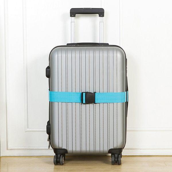 《簡單購》潮流時尚馬卡龍色創意行李箱束帶/綁帶(可選色)