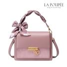 手提包 甜心蝴蝶結絲巾提帶小方包 5色-La Poupee樂芙比質感包飾 (預購+好禮)
