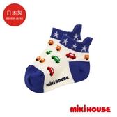 MIKI HOUSE 日本製 小汽車透氣短襪