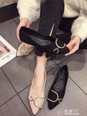 豆豆鞋單鞋女春季新款韓版尖頭平底平跟懶人鞋一腳蹬淺口百搭豆豆鞋 電購3C