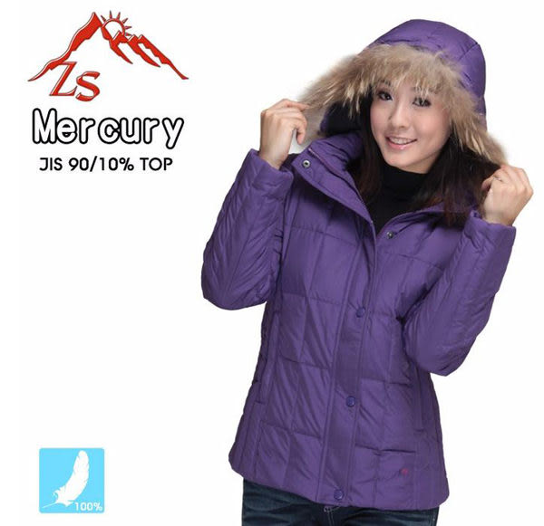 ZS Mercury 時尚女款特級羽絨外套