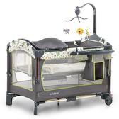 valdera便攜式可折疊嬰兒床多功能寶寶床bb床拼接大床新生兒搖床