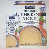 [COSCO代購] C516822 KS 科克蘭有機清雞湯 946毫升 X6瓶