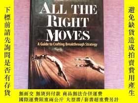 二手書博民逛書店All罕見the Right Moves: A Guide to