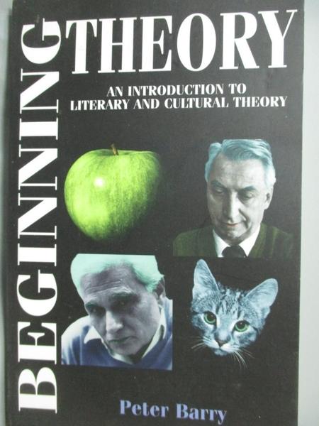 【書寶二手書T6/原文書_BQS】Beginning Theory: An Introduction…_Peter Ba