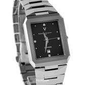 Valentino范倫鐵諾 高規格頂級鎢鋼方形手錶對錶 藍寶石水晶鏡面 柒彩年代【NE1880】單支價格