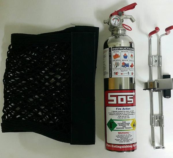 汽車用滅火器 氣體式滅火器兼防狼噴霧器 1型fc232潔淨氣體-永久免換藥(買一送一支防狼噴霧器)