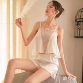 女式吊帶性感睡衣套裝情趣誘惑網紗內衣 BF3815【旅行者】