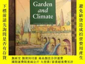 二手書博民逛書店Garden罕見and Climate 園林與氣候,2002大開