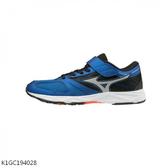 MIZUNO SPEED STUDS [K1GC194028] 大童鞋 運動 休閒 慢跑 穩定 耐磨 透氣 舒適 藍黑