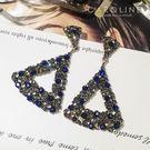 《Caroline》★韓國熱賣造型時尚  Bling  Bling 絢麗閃亮動人耳環70462