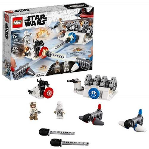 LEGO 樂高 Star Wars: The Empire Strikes Back Action Battle Hoth Generator Attack 75239 Building Kit (235 Piece)