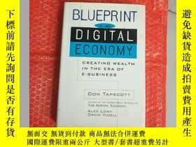 二手書博民逛書店blueprint罕見to the digital econom