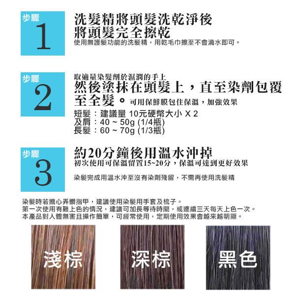 Sastty 日本利尻昆布白髮染髮劑 200g 多色可選【YES 美妝】NPRO