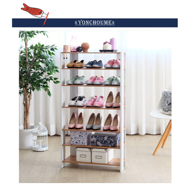 收納 鞋櫃 鞋架 置物架【3126】四丁目加寬六層美背開放式收納架 多功能 日本熱銷 MIT 台灣製