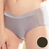 【華歌爾】輕柔記形M-LL中腰蕾絲平口褲(黑)(未滿3件恕無法出貨,不可退換貨)