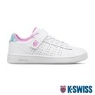 K-SWISS Court Casper VLC時尚運動鞋-童-白/水藍