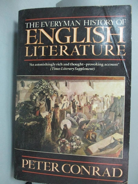 【書寶二手書T4/原文小說_JFI】Everyman History of English Literature