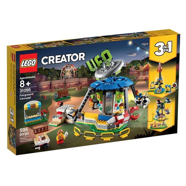31095【LEGO 樂高積木】Creator 3合1 系列 - 遊樂場旋轉木馬