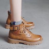 chic馬丁靴女2020新款英倫風學生韓版百搭ins女靴春秋季短靴子冬 童趣