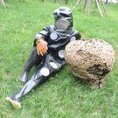 馬蜂服防蜂衣胡蜂防護服全套連體透氣加厚馬蜂衣捉馬蜂專用衣服 摩可美家 igo摩可美家