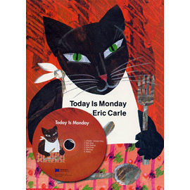 『說口好英文--第8週』『繪本123‧吳敏蘭老師書單』-- TODAY IS MONDAY / 硬頁書+CD