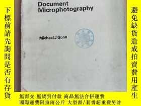 二手書博民逛書店manual罕見of document microphotography(P2142)Y173412