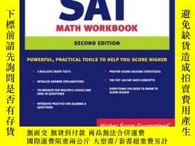二手書博民逛書店Kaplan罕見Sat Math Workbook (kapla