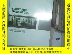 二手書博民逛書店EQUITY罕見AND FIXED INCOME2018 5 權