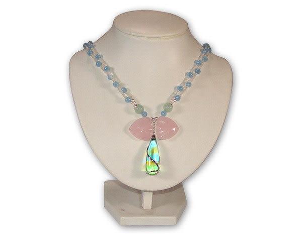 鹿港窯~居家開運 琉璃珠寶項鍊~ 水滴◆附精美包裝‧免運費送到家