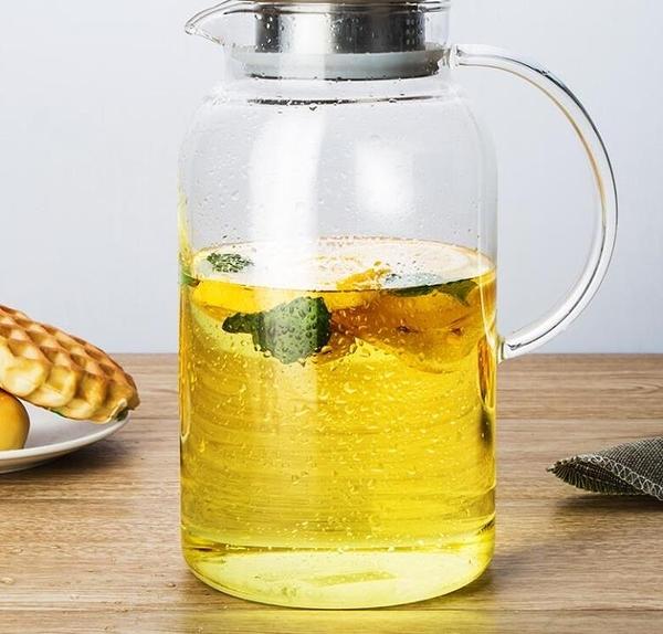 茶壺 天喜冷水壺玻璃耐熱高溫家用涼白開水杯茶壺扎壺大容量涼水壺【快速出貨八折下殺】