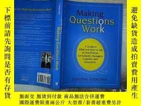 二手書博民逛書店Making罕見Questions Work .Y203004