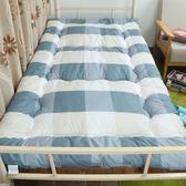 學生宿舍單人0.9米1.2m榻榻米加厚床墊1.8m床褥子1.5m雙人墊被褥【雙11購物節】