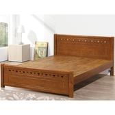 床架 床台 PK-504-1 和風5尺床台 (不含床墊) 【大眾家居舘】