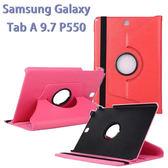 【旋轉、斜立】三星 SAMSUNG Galaxy Tab A 9.7 SM-P550/P555/P550 荔枝紋皮套/書本式保護套/側掀支架