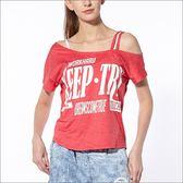 個性斜肩不對稱罩衫 TA633(商品不含內搭/尺寸偏大)-百貨專櫃品牌 TOUCH AERO 瑜珈服有氧服韻律服
