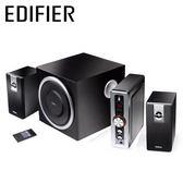 【Edifier 漫步者】C2 2.1聲道 三件式 喇叭  黑色