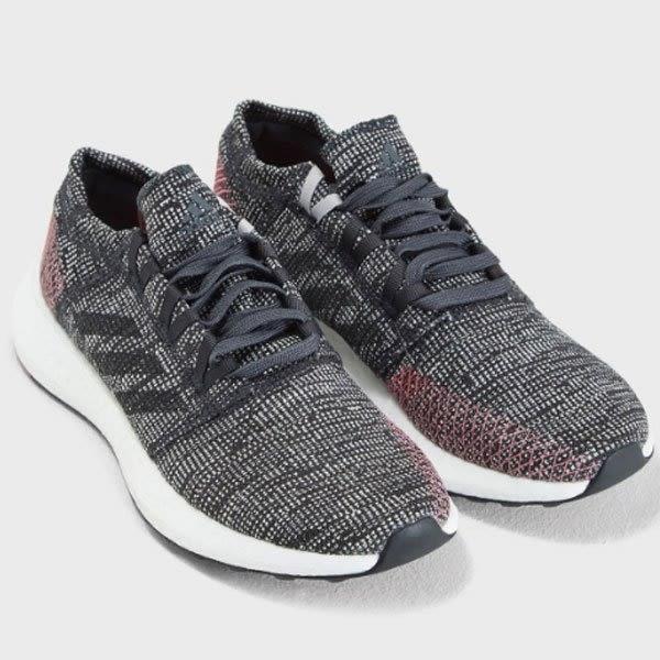ADIDAS PUREBOOST GO 灰色編織 慢跑鞋 慢跑鞋 女 (布魯克林)  B75667