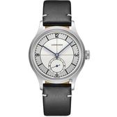 送原廠錶帶 LONGINES 浪琴 Heritage 1930 復刻經典小秒針機械套錶-38.5mm L28284730