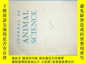 二手書博民逛書店JOURNAL罕見OF ANIMAL SCIENCE (動物科學雜誌)1985-01Y259485