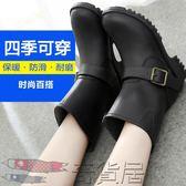 雨鞋女雨靴防滑水鞋女時尚中筒韓國