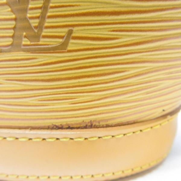 LOUIS VUITTON LV 路易威登 黃色EPI手提包 扇形包 Saint Jacques M52279【BRAND OFF】