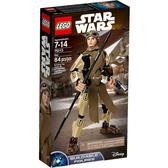 75113【LEGO 樂高積木】星際大戰 組裝戰士 Rey