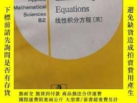 二手書博民逛書店罕見ar Integral Equations( :1363)Y