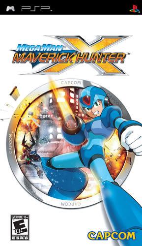PSP Mega Man Maverick Hunter X 洛克人:反亂獵人X(美版代購)