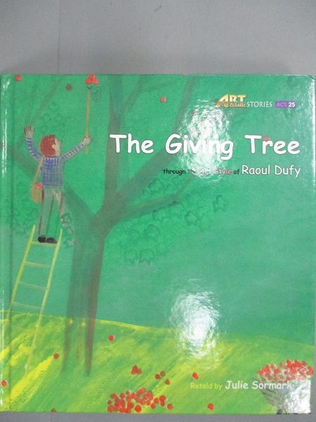 【書寶二手書T5/兒童文學_QIP】The giving tree_original Korean text by Ji
