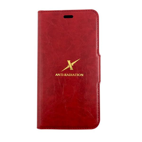Moxie X-Shell 360° iPhone X / 摩新360度旋轉iPhone X 防電磁波手機套 皮套 紅