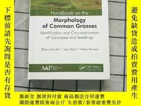 二手書博民逛書店Handbook罕見on the Morphology of Common Grass... Y268220