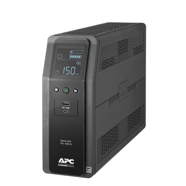 ◤全新品 含稅 免運費◢ 艾比希 APC Back UPS Pro BR1500MS-TW UPS 不斷電系統 (1500VA) (120V)