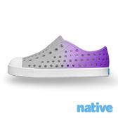 native 小童鞋 JEFFERSON 小奶油頭鞋-霧灰x神秘紫